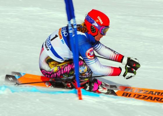Francesca Fanti nello slalom gigante di Pfelders