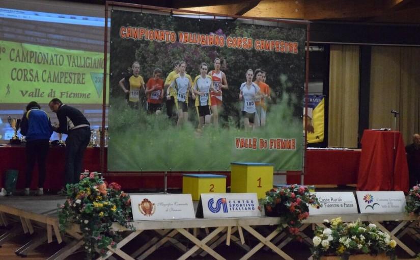 Premiazioni 52° Campionato Valligiano