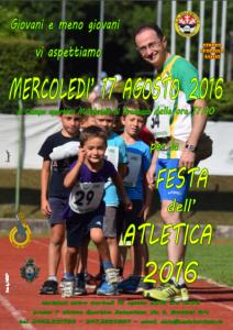 Manifesto Festa dell'Atletica
