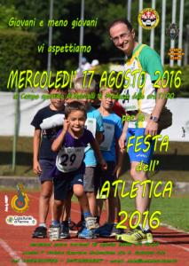 Festa dell'Atletica 2016