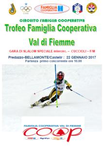 Trofeo Famiglia Cooperativa Val di Fiemme (interc. cuccioli)