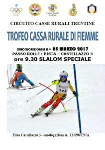 Trofeo Cassa Rurale di Fiemme 05.03.2017