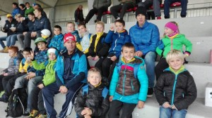 Il mister, per premiare i suoi pulcini, li ha portati a Bolzano a vedere la partita SudTirol-Ancona.