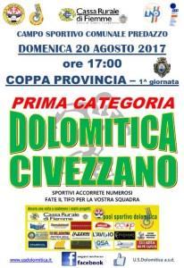 1a coppa provincia 20.08.2017