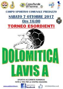 7.10.17 Dolo vs Lavis A Esordienti