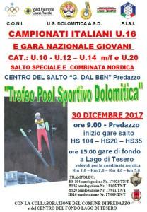 30.12.17 Salto Trofeo Pool Sportivo Dolomitica