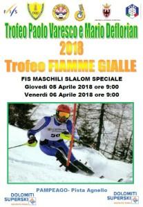 5-6.04.2018 Trofeo Paolo Varesco e Mario Deflorian - Trofeo Fiamme Gialle