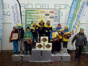 podio U14 TEAM salto speciale