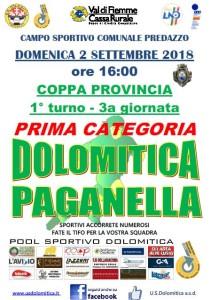 02.09.2018 Coppa Dolo-Paganella