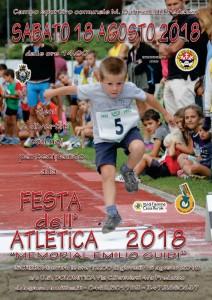 2018.8.19 Predazzo Festa atletica