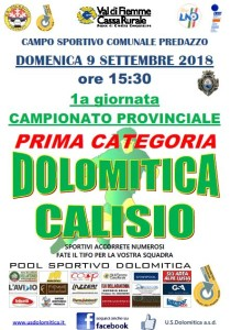 Partita 09.09.18 Dolo-Calisio