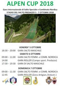 5-6-7.10.2018 Alpen Cup 2018