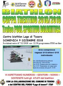 Coppa biathlon 9.12.18