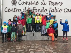 podio trofeo pool sportivo dolomtiica
