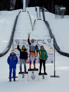 podio combinata U14 masch. 1° Libener