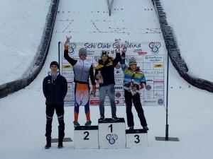 podio salto speciale allievi maschile - 2° libener