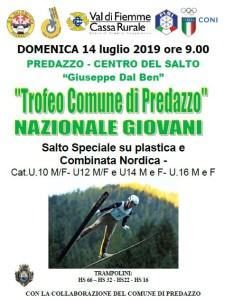 Trofeo Comune di Predazzo 14.7.19