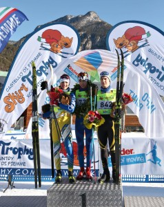 podio ragazzi skiry trophy