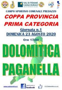 Dolo vs Paganella 23.8.20