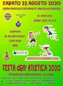 festa atletica 2020