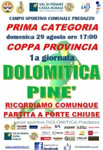 29.8.21 Dolo vs Pinè